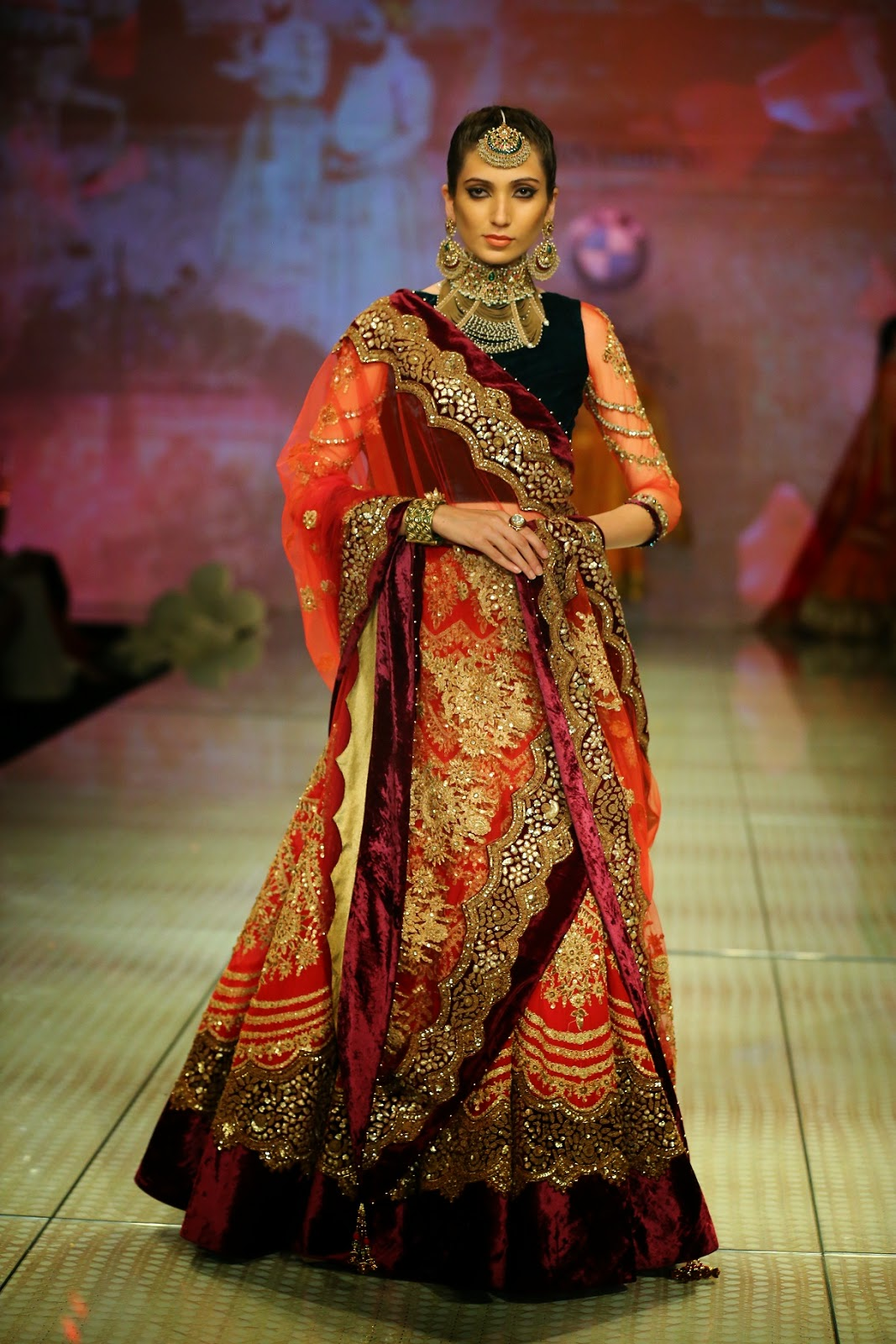 BMW INDIA BRIDAL FASHION WEEK (BMW IBFW) 2014 | Stylish By ...