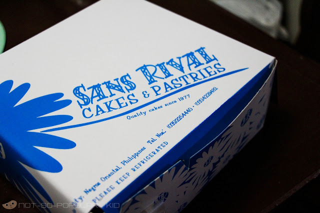 A Box of Goodness from Sans Rival Cakes & Pastries