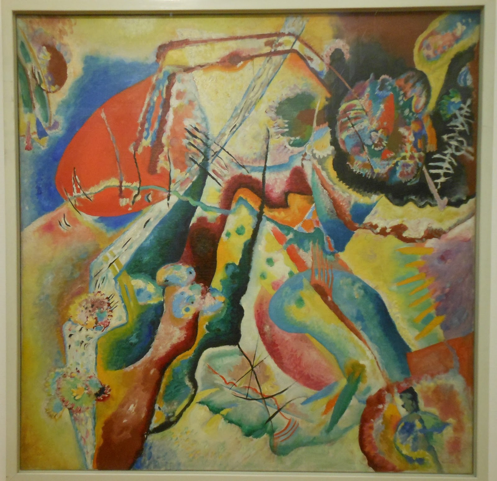 Art With a Needle: Paris museums 5 -- Kandinsky at the Pompidou