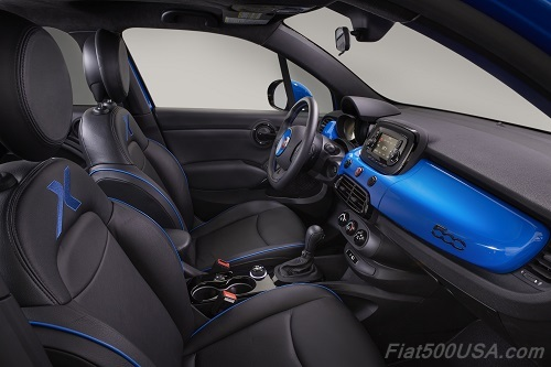 Fiat 500X Chicane Rear Interior