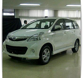 New Toyota Avanza 2012