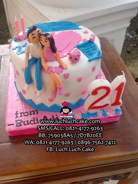Kue Tart Romantis Untuk Pacar Daerah Surabaya - Sidoarjo