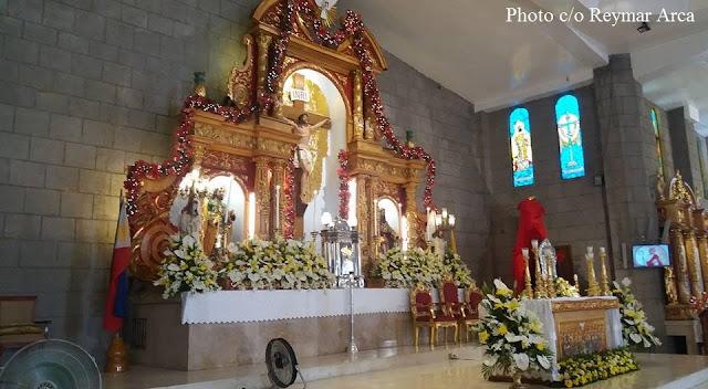 SANTA CRUZ PARISH CHURCH (Tata Usteng), Tanza, Cavite, Philippines,
