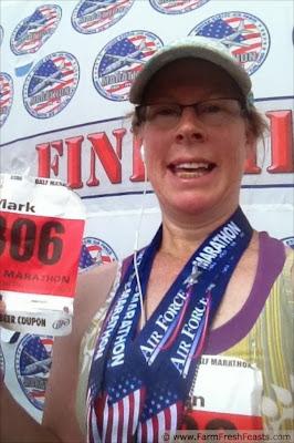 USAF Half Marathon Finisher