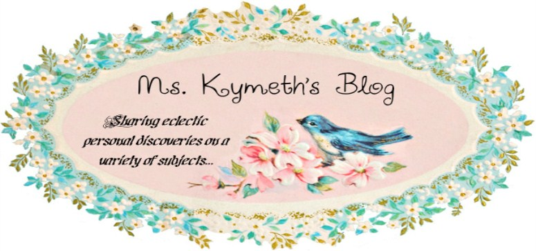 Ms. Kymeth's Blog