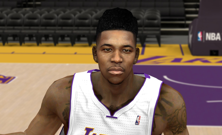 NBA 2K14 Nick Young Swaggy P Hair Mod