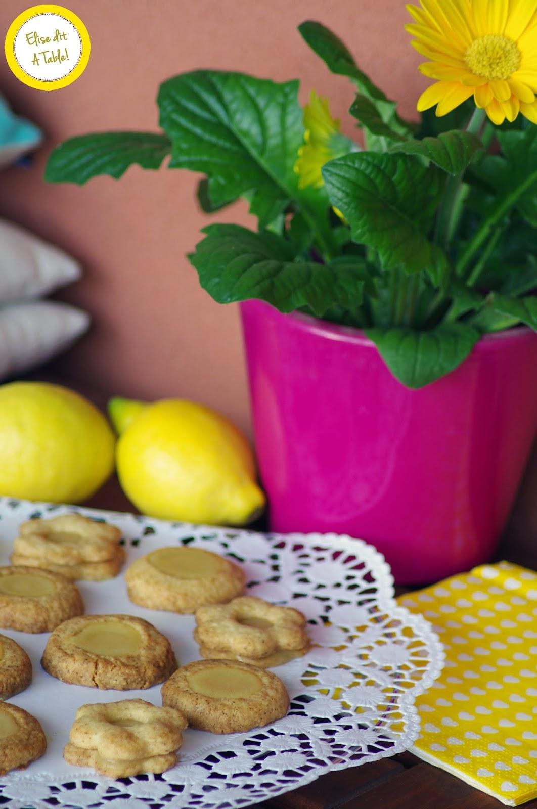 sablé citron cofruit