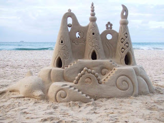 Tips To Shape A Sandy Castle