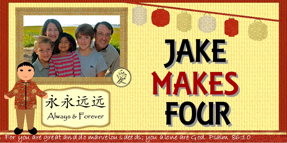 Jake Makes Four