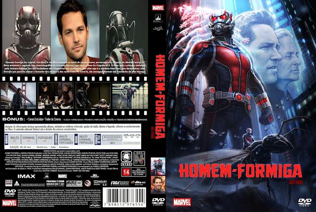 Capa DVD Homem Formiga