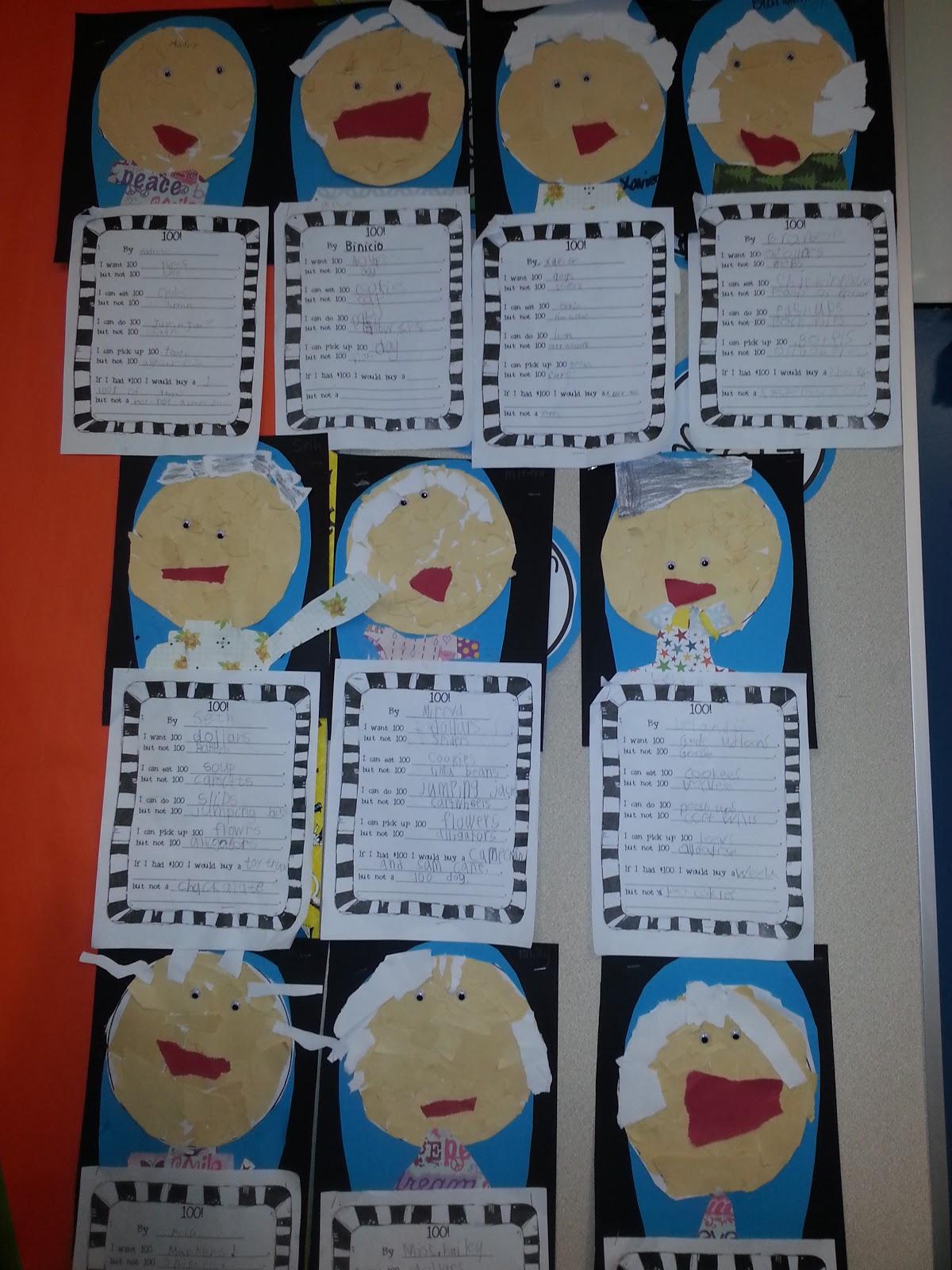 Day of school art activities elementary 50 back to school 100 days