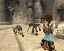 Tomb Raider Anniversary Screenshots
