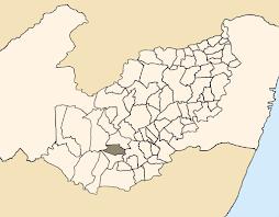 Localização de Paranatama - PE