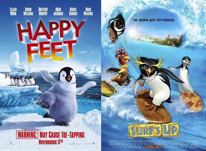 15. Happy Feet | Surf's Up – 2006/2007