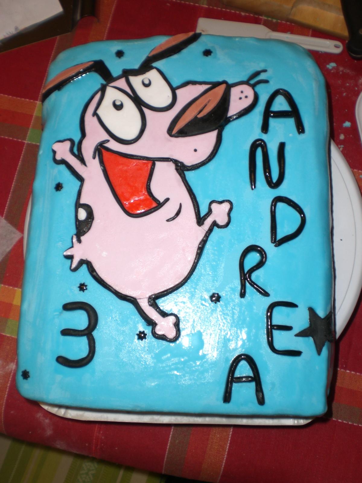I Love Cake Design Fiorella : Cake Design di Fiorella: Leone Cane Fifone per i 3 anni di ...