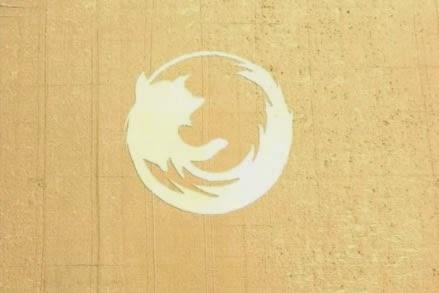 Firefox Crop Circle 9th unusual Google Earth discovery