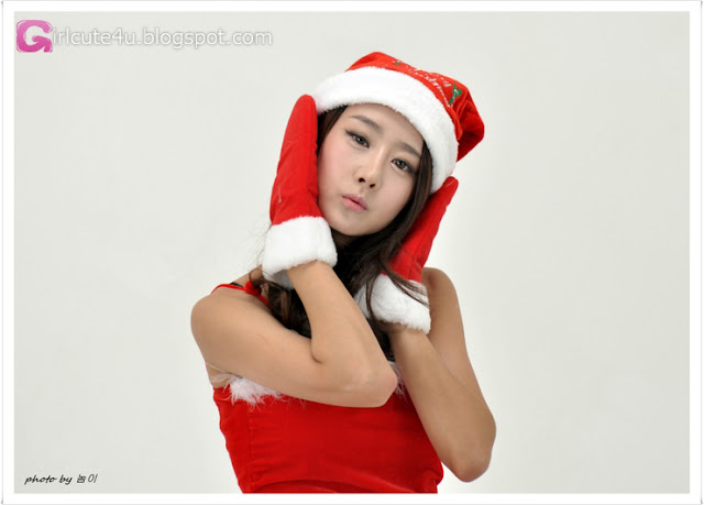 1 Santa Park Hyun Sun-very cute asian girl-girlcute4u.blogspot.com