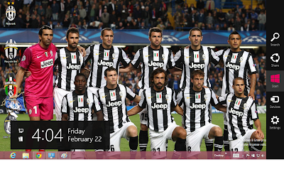 2013 Juventus Fc Windows 8 Theme, Juventus Wallpaper 2013