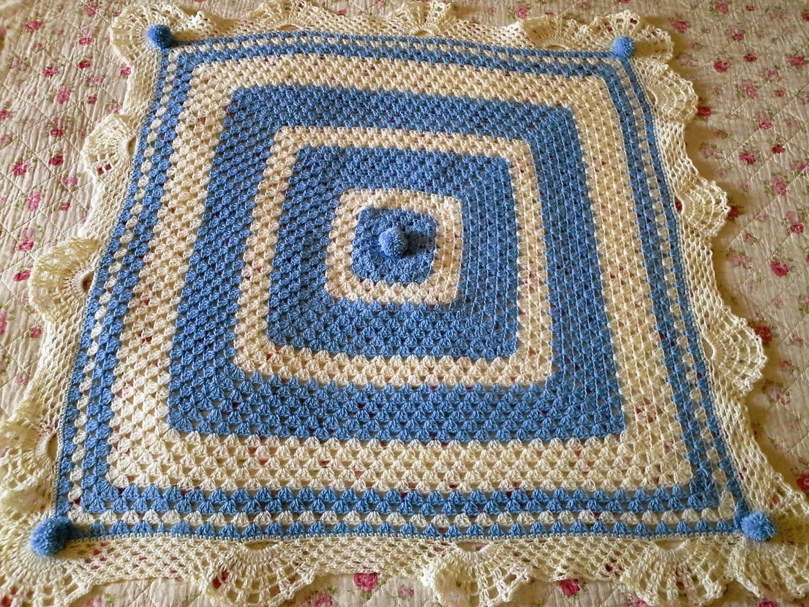 Gut bekannt Melissa Melina Crochet: Couverture pour bébé au crochet avec le  QI58