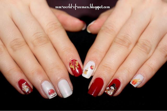 Świąteczny manicure z BornPrettyStore