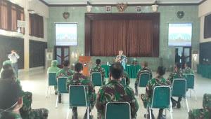 Dalam Rangka Meningkatkan Kemampuan Komunikasi Jajaran Korem 061/SK Diberikan Motivasi