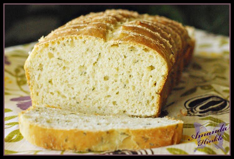 Amanda's Life Commentary: Herb Batter Bread