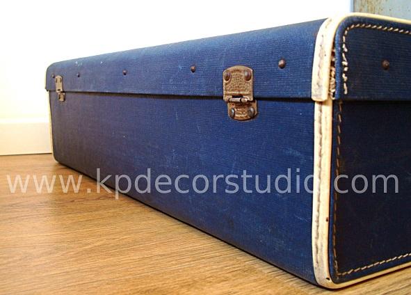 Maletas antiguas auténticas de los años 40. Verdaderas maletas antiguas para decorar