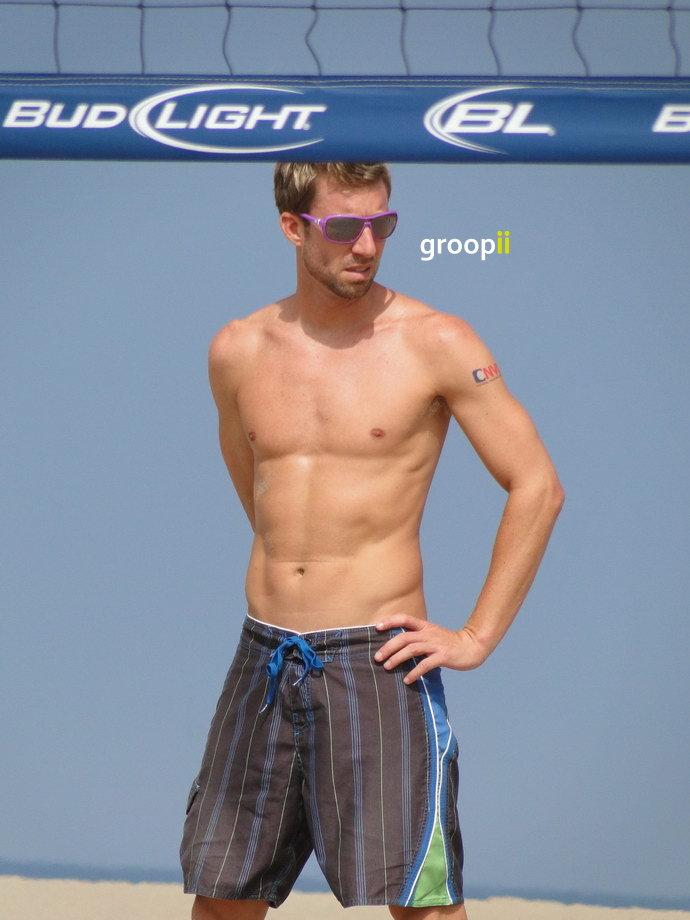 Adam Roberts Shirtless at the NVL Malibu 2011