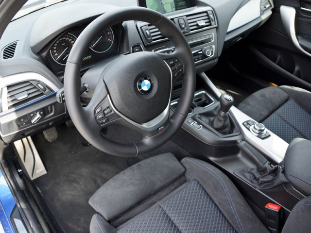 BMW 120d xDrive 2013 interior