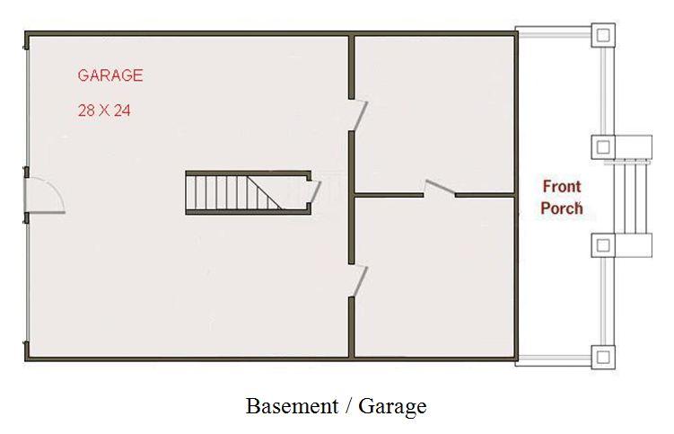 Home Ideas Tuck Under Garage House Plan