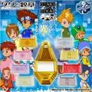 Digimon Adventure Circuito & Emblemas - Bandai Exclusivo