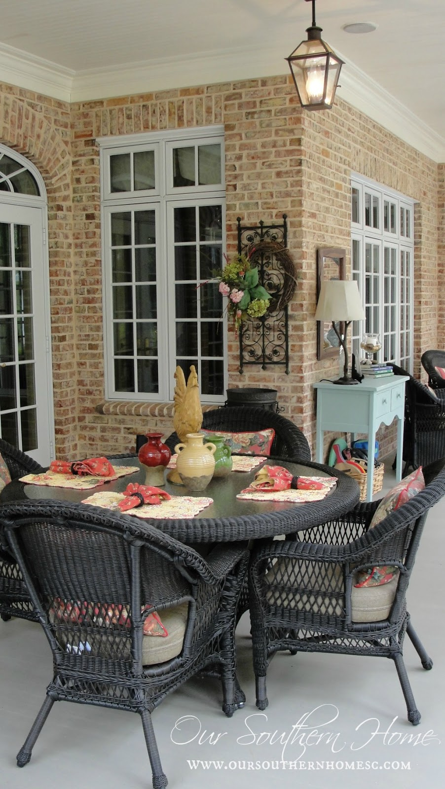 Serenity now highlighted links project ideas for Southern homes with porches