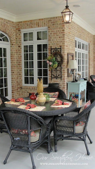 Screened Porch Tour