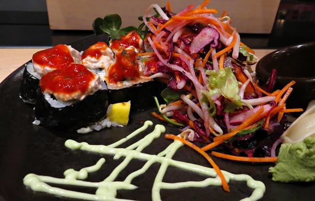 Vulcano, Teryaki-Hühnchen, Sushi in Bonn, GinYuu