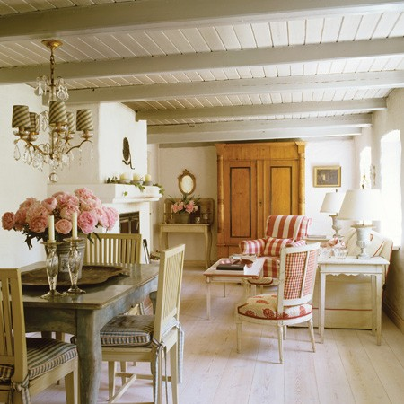 New Home Interior Design Traditional Cottages