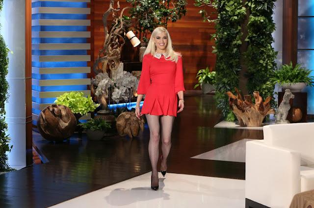 Actress, Singer, @ Gwen Stefani - Ellen DeGeneres Show