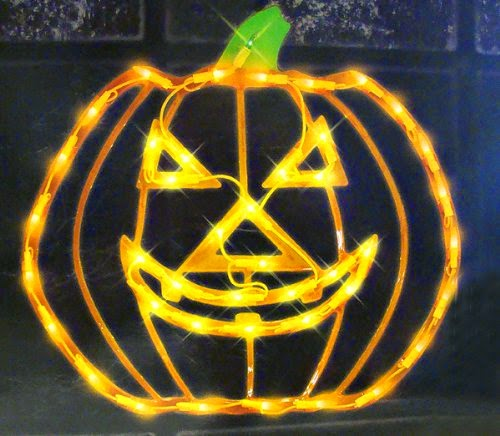 Halloween Lighter Pumpkin Decoration
