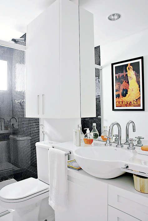 decoracao banheiro fotos : DECORA??O SIMPLES PARA BANHEIROS PEQUENOS - DICAS, FOTOS