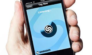 shazam reconocer canciones cantantes
