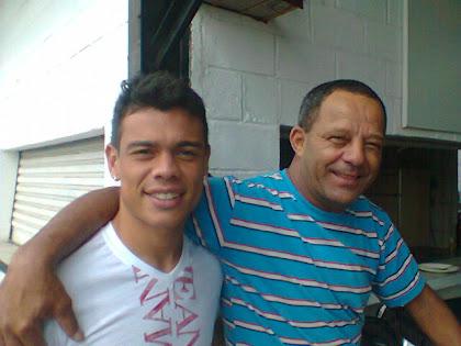 """Bernardo e  Diretor de Esporte """"Anjinho"""""""