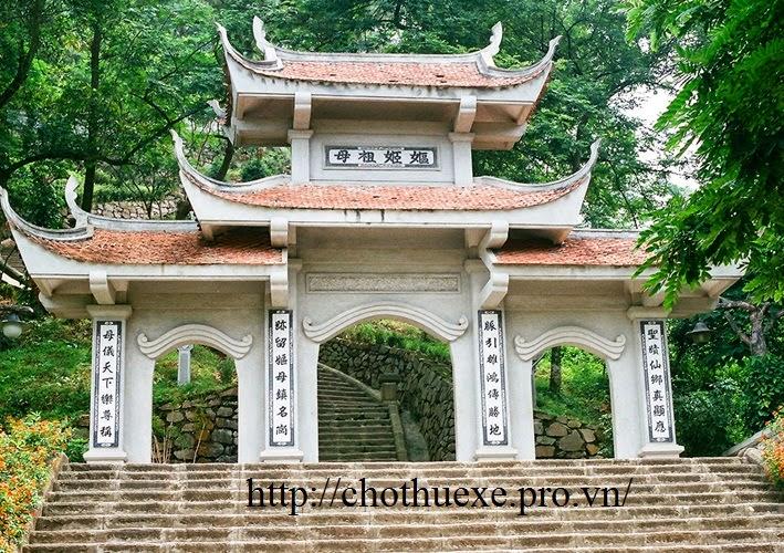Cho thuê xe 29 chỗ đi đền Hùng