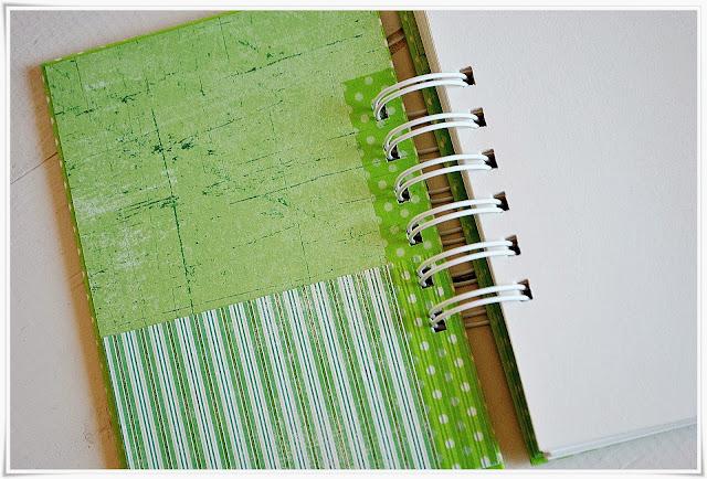 przepiśnik, notatnik klinarny scrapbooking