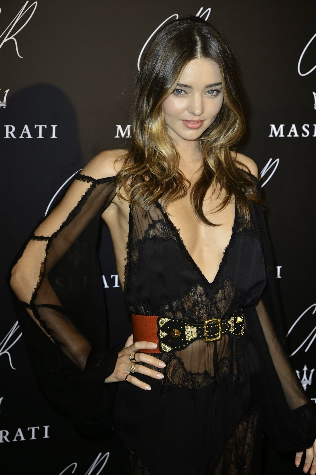Miranda Kerr stuns in Emilio Pucci at the CR Fashion Book #5 Paris Launch Party