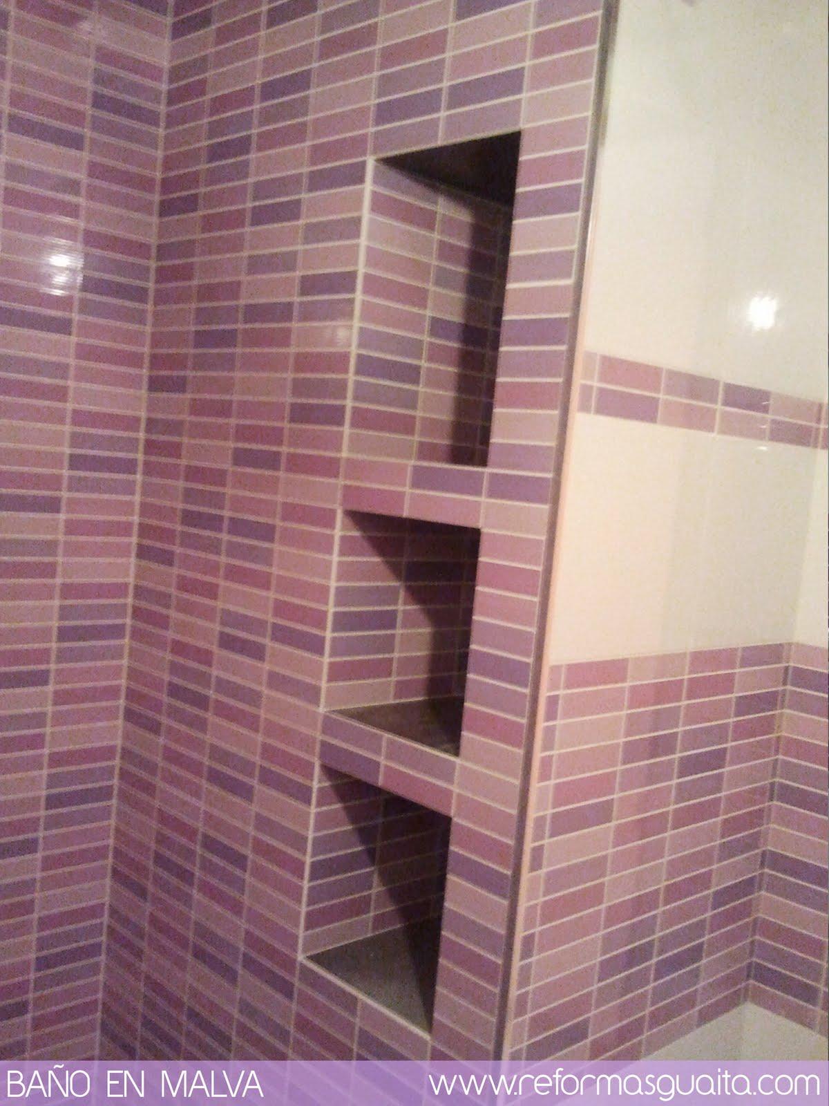 Azulejos ducha lisos de brown azulejos duchas de bao con - Azulejos para duchas de obra ...