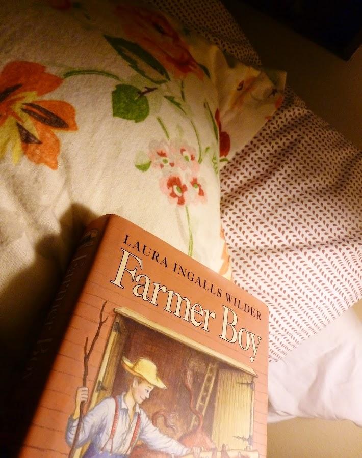 Julia's Bookbag: Farmer Boy