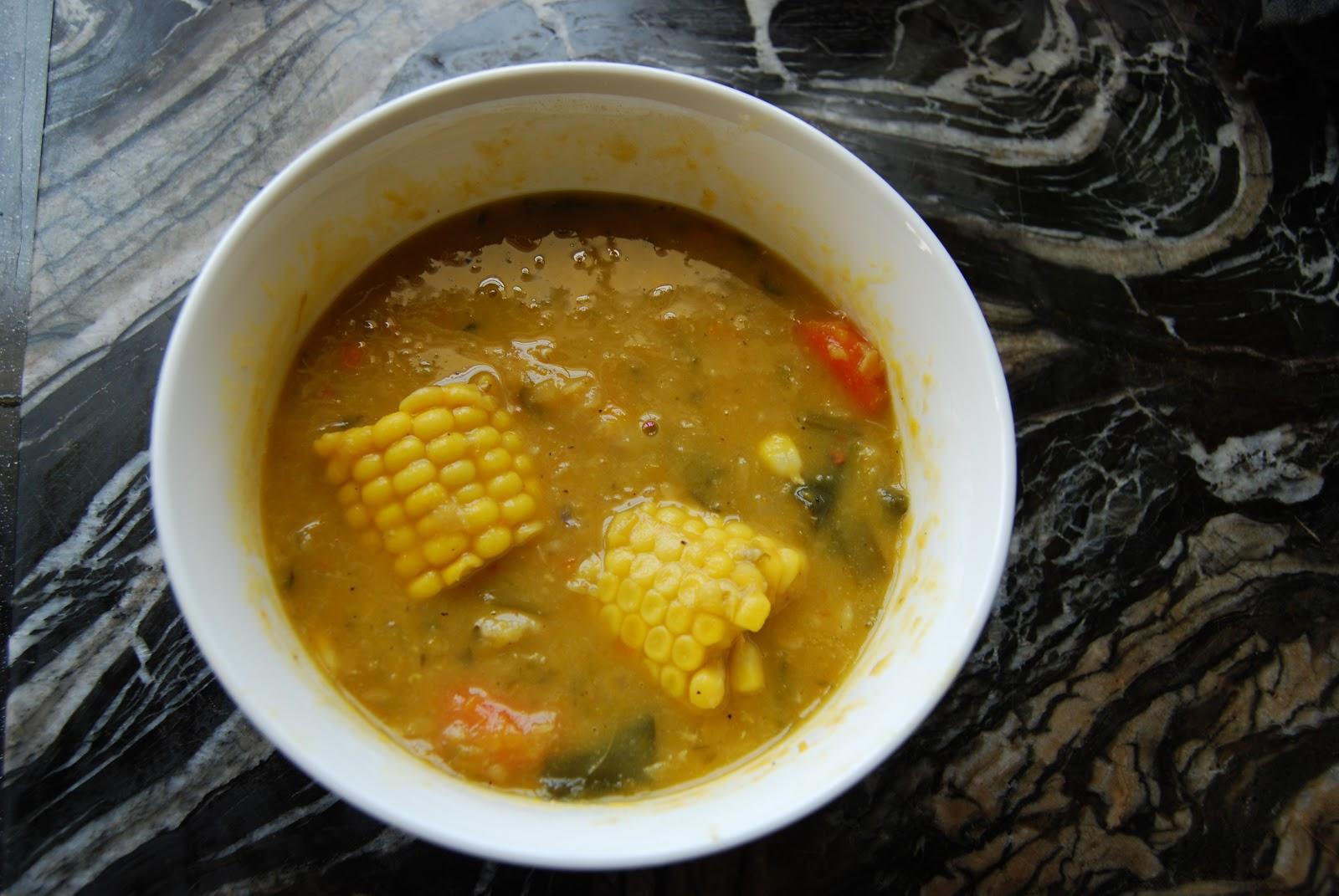 Image gallery trinidad soup for Trinidad fish broth