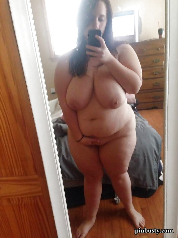 chubby mirror selfies girl Bbw