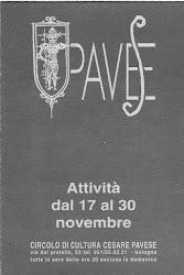 Circolo Cesare Pavese, Bologna; Italia