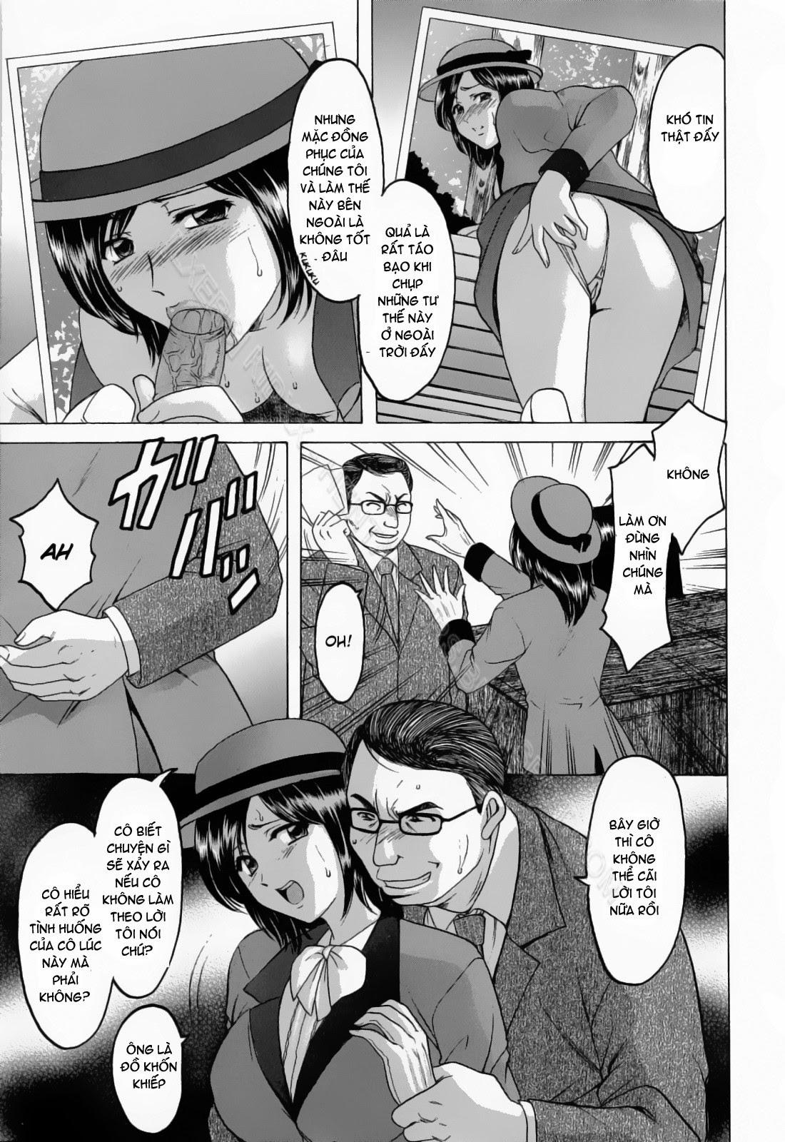 TruyenHay.Com - Ảnh 13 - Hataraku Onee-san wa Back ga Osuki Chapter 1-2