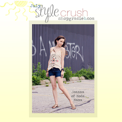 July Style Crush: Joanna from Moda Mama